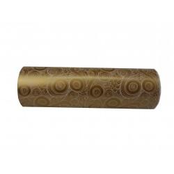 Papel de regalo estampado dorado 31cm