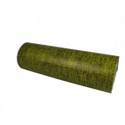 Papel de regalo estampado negro fondo verde 31cm