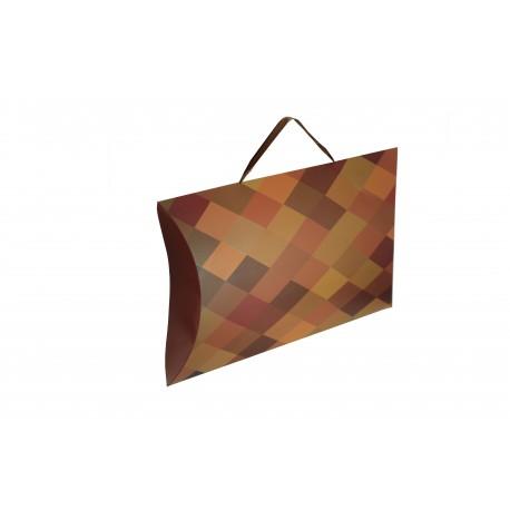 Sobres de cartón para regalos rombos 31x25cm 10 unidades