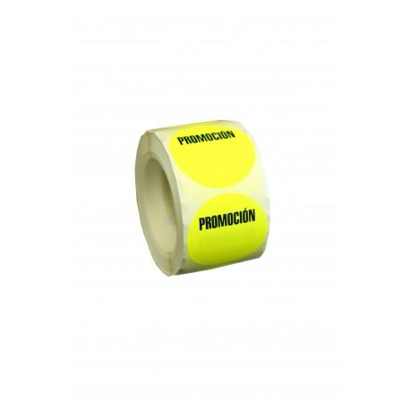 Etiquetas de precios promoción para tiendas 5x5cm