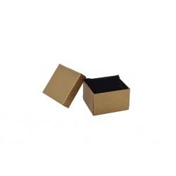 Cajita para reloj color marrón 8.5x9x5.5cm 12 und