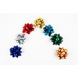 Estrellas adhesivas colores metálicos
