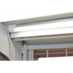 Guía de luz led imantada para estantería de metal 150cm