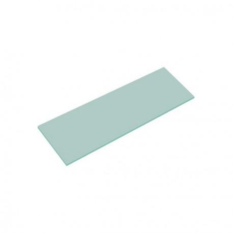 Cristal satinado color mate 120x40cm grosor 6mm