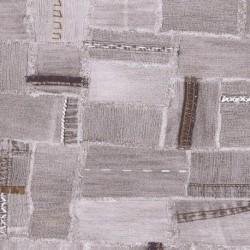 Papel para regalo estampado tela vaquera gris 62cm