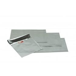 Sobres de papel plata metalizado 40x25cm 50 unidades