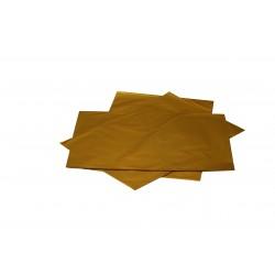 Sobres de plástico oro metalizado 50x35 cm 50 unidades