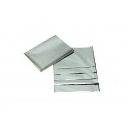 Sobres de plástico plata metalizado 15x10 cm 100 unidades