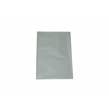 Sobres de plástico plata metalizado 25x15 cm 100 unidades