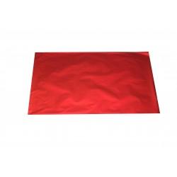 Sobres de plástico rojo metalizado 50x35 cm 50 unidades