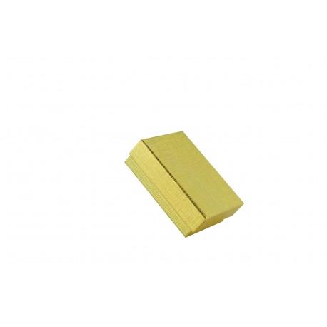 Cajita para joyeria varios colores 9x7x3cm 12 und