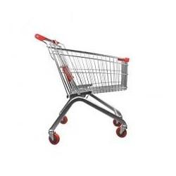 Carro de compra supermercado 100 litros
