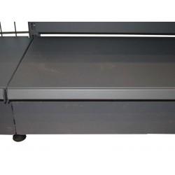 Chapa frontal color gris para estanteria metalica 120 cm