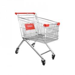 Carro de compra supermercado 80 litros