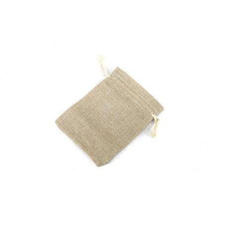 Bolsas de tela de saco 12x9cm