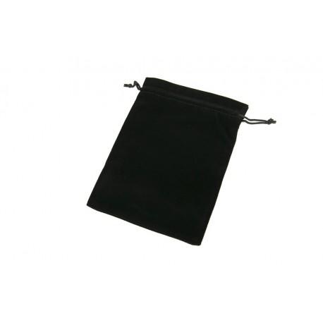 Bolsas de terciopelo negro 19x14cm