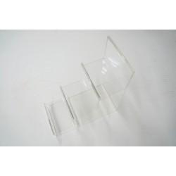 Expositor acrilico de monederos 3 alturas 21.5x20 cm