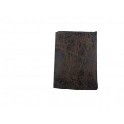 Expositor para pendientes en polipiel veteado marrón 5x3x7cm