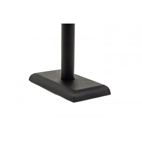 Expositor para pulseras en polipiel negro 25x18 cm