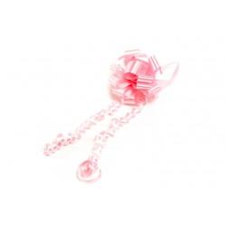 Lazo automático regalo rosa palo