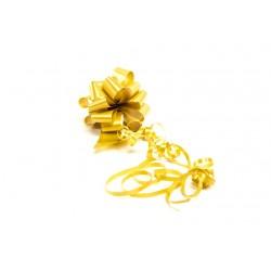 Lazo automático para regalo color dorado