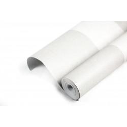 Rollo de papel pared pintado rayas anchas gris 10 metros