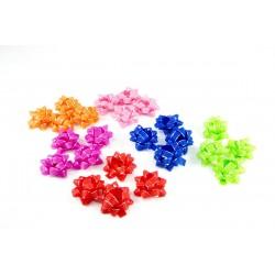 Estrellas textiles para regalos varios colores