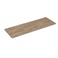 BALDA DE MADERA 90X30 CM GROSOR 19 MM COLOR OAK CLARO