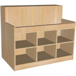 Mueble para hosteleria en varios acabados y colores 100x180x70 cm