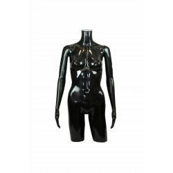 Busto de mujer con brazos polieteno negro