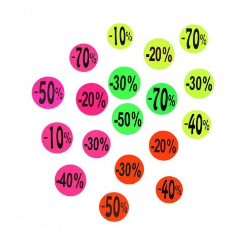 Cartel 10% 20% 30% 40% 50% 70%