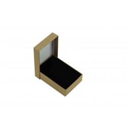 Cajita para joyas en color beige 12x8x3 cm 24 uds