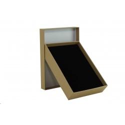 Cajita para joyas en color beige 12x16x3cm 24 uds