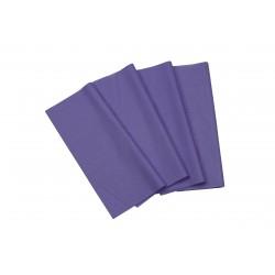 Papel de seda color morado 75x50cm 100 und