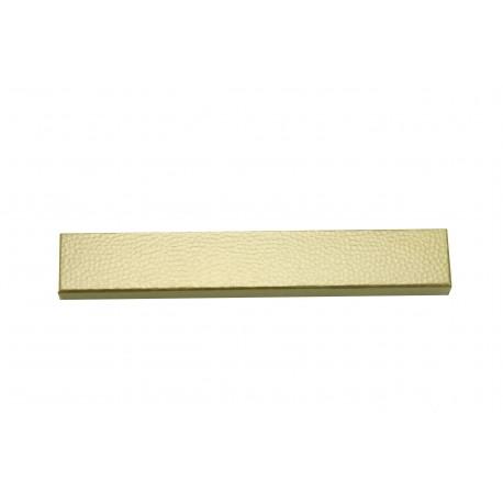 Cajita para joyeria color dorado rugoso 21.5x3.5x2.3cm 12 uds