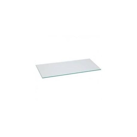 Cristal color transparente 120x35cm grosor 8mm