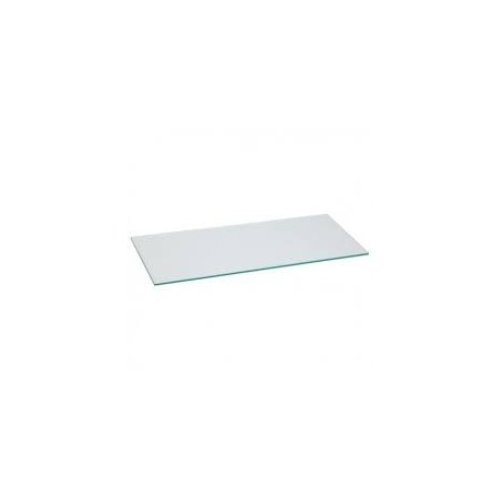 Cristal color transparente 120x40cm grosor 8mm