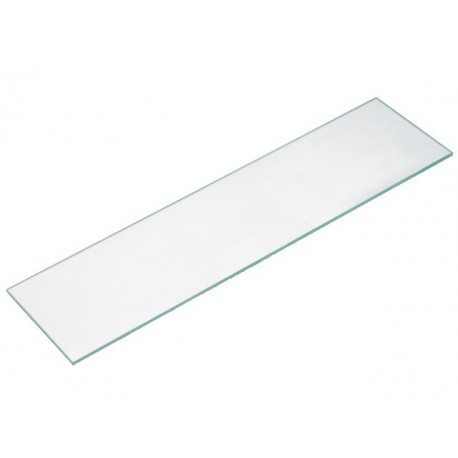 Cristal color transparente 90x25cm grosor 8mm