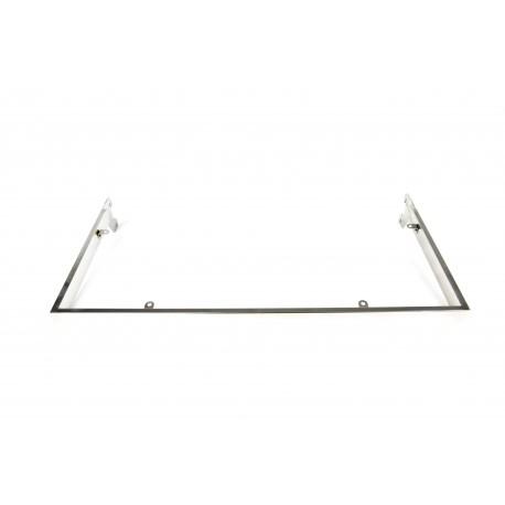 Soporte de estante para cremallera 59.5x29 cm