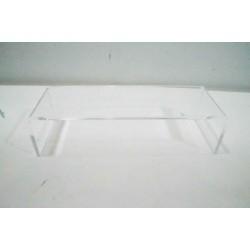 Expositor acrílico forma C 20.5x5.5 cm