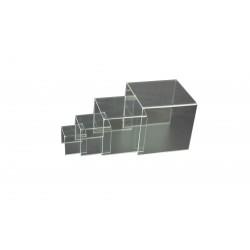 Conjunto expositor de mesitas acrilico 4 alturas