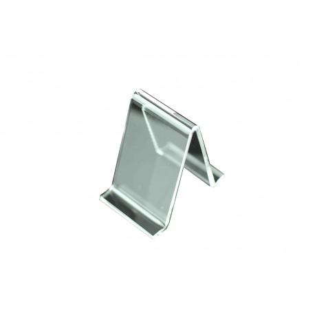 Expositor metacrilato triangular 10 unidades