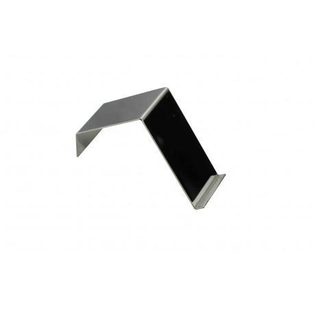 Expositor de metal cromado 13x5x7.5 cm