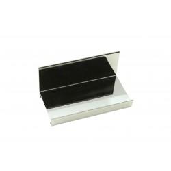 Expositor de metal cromado 20x10x9 cm