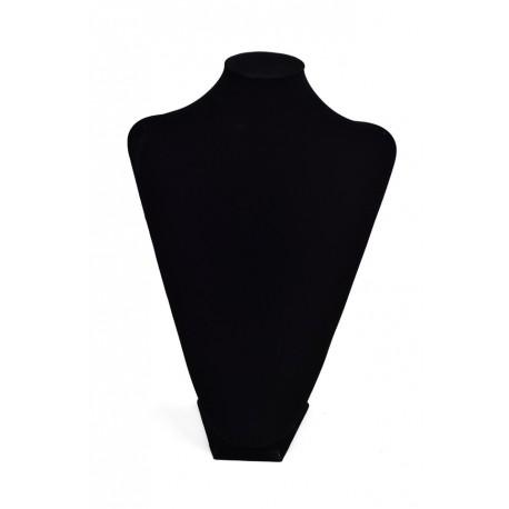 Expositor para collares terciopelo negro 37x26x16cm