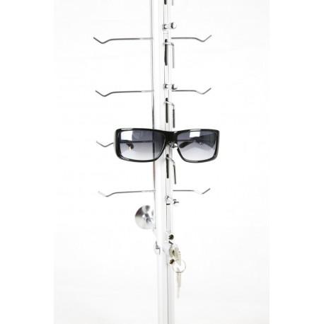 Expositor de gafas de pared con cierre