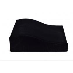 Expositor para pulseras terciopelo negro 20x6x20cm