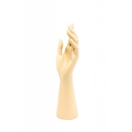 Expositor para anillos forma de mano en color carne