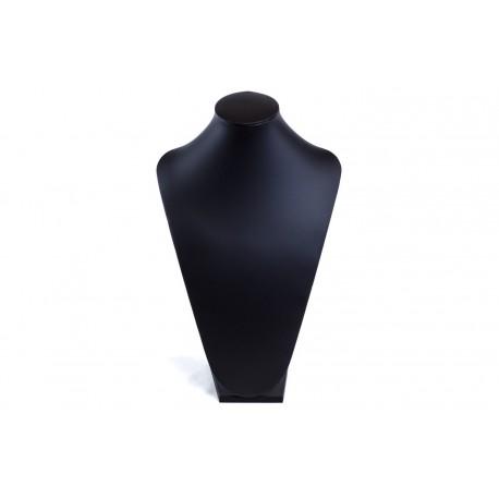 Expositor para collares grande polipiel negra