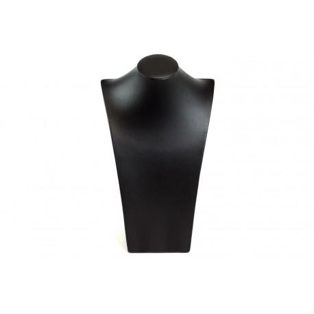 Expositor de collares polipiel color negro